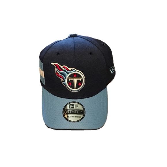 806e75c8 Tennessee Titans New Era Flex Fit Hat Cap Size M/L NWT